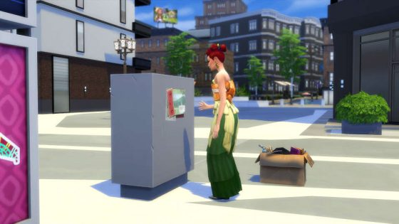 De Sims 4 collecties: Stadsposters
