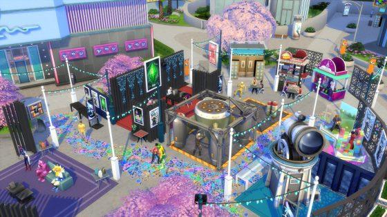 De Sims 4 Stedelijk Leven: 4 nieuwe screens