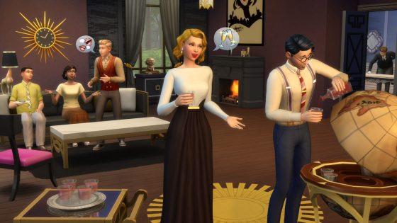 De Sims 4 Vintage Glamour Accessoires