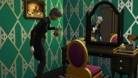 SN Review: De Sims 4 Vintage Glamour Accessoires - Butler