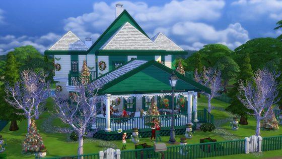 Community blog: 5 geweldige vakantiekavels om de wereld van je Sims extra feestelijk te maken.