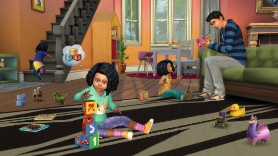 kijk hoe peuters tot stand kwamen in De Sims™ 4