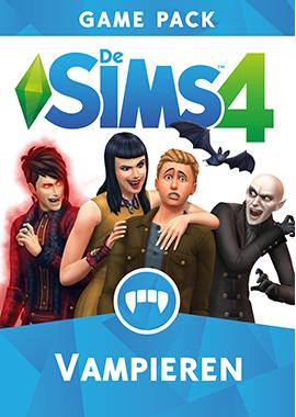 De Sims 4 Vampieren: Box-art