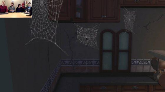 Spinnenwebben