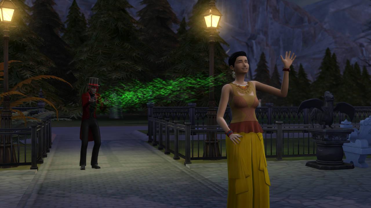 SN Review: De Sims 4 Vampieren - Vampierkrachten