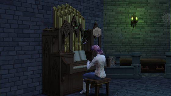 SN Review: De Sims 4 Vampieren - Orgel