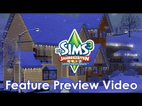 De Sims 3 Jaargetijden: features video