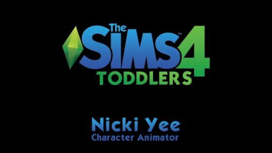 De Sims 4 peuteranimaties van Nicki Yee