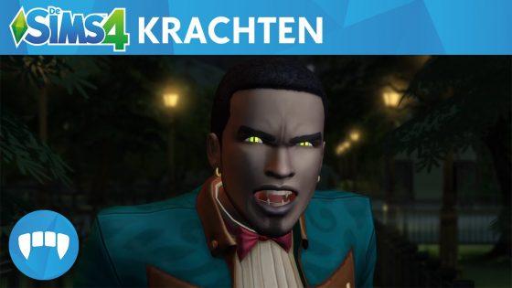 De Sims 4 Vampieren: Vampierkrachten gameplaytrailer