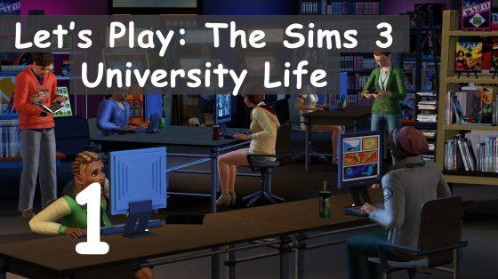 Eerste 'Let's play The Sims 3 University' duikt op