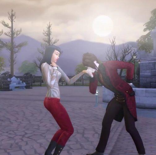 De Sims 4 Vampieren: Nieuwe video