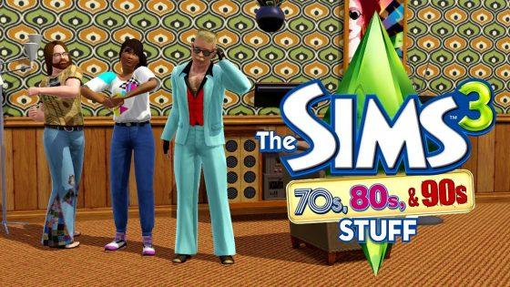 Lazy Game Reviews  'De Sims 3 70's-80's-90's Accessoires'