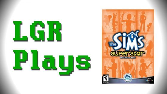 Lazy Game Reviews speelt De Sims 1: Superstar