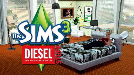 Lazy Game Reviews: video review van De Sims 3 Diesel Accessoires