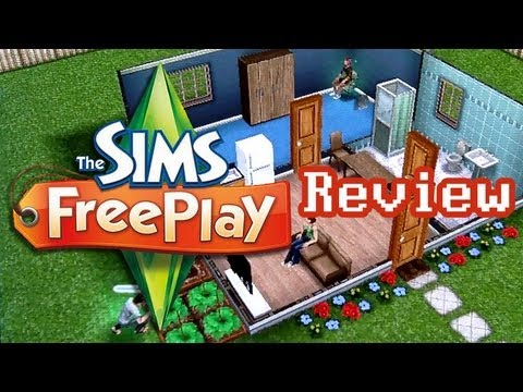 Lazy Game Reviews: video review van The Sims FreePlay