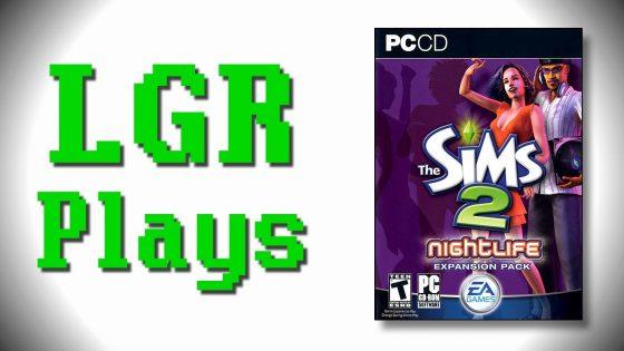 LGR Plays De Sims 2 Nachtleven