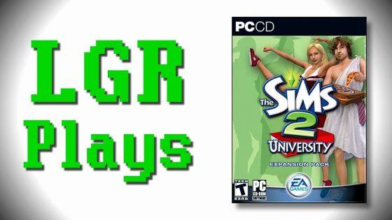 LGR Plays: De Sims 2 Universiteit