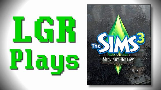 LGR Plays – The Sims 3 Midnight Hollow