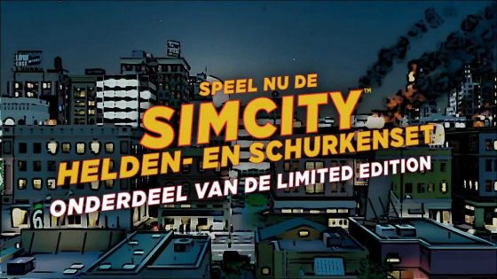 Nieuwe SimCity Limited Edition Trailer