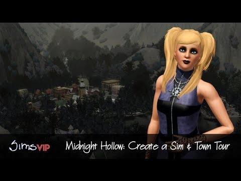 SimsVIP: Midnight Hollow Gameplay