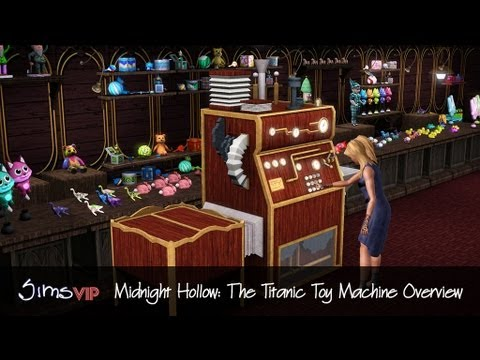 SimsVIP: Premium Content van Midnight Hollow