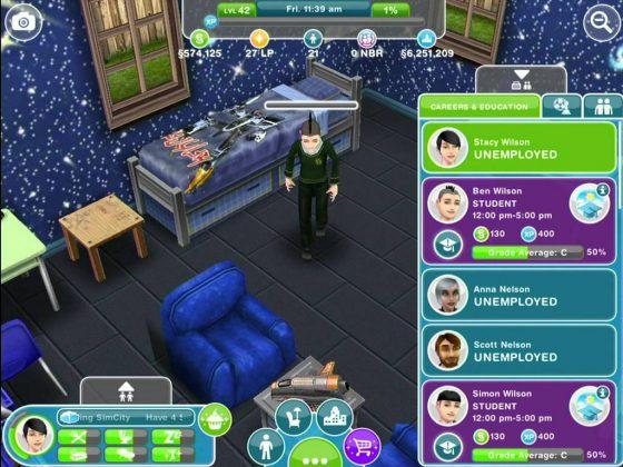 The Sims Freeplay: update voor iOS