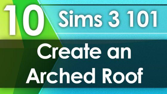 TheSimSupply : De Sims 3 101 creëer een rond dak