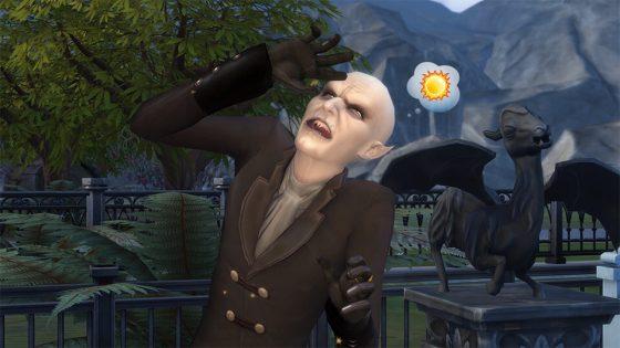Word onsterfelijk met het De Sims™ 4 Vampieren Game Pack !