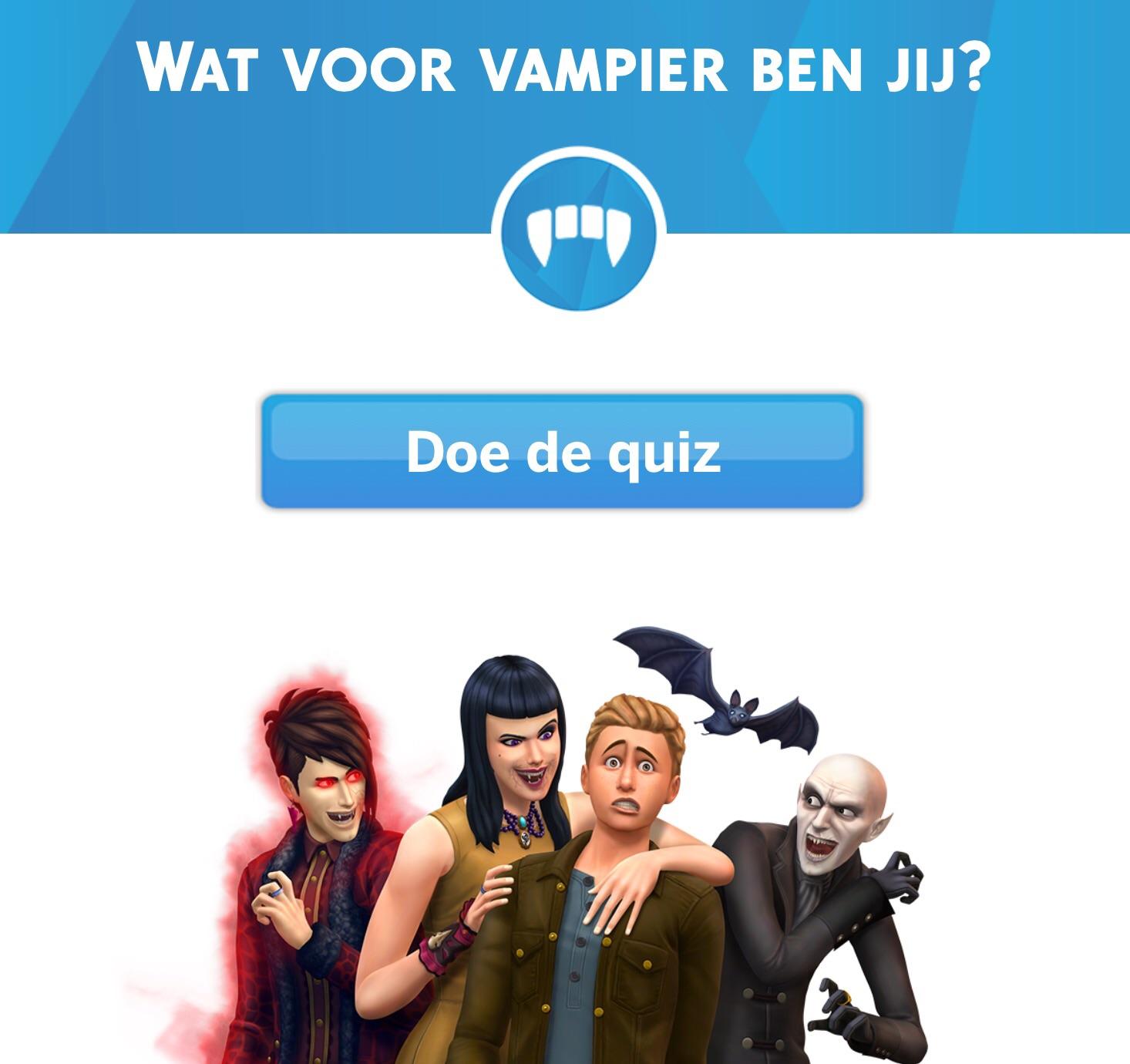 Wat voor een Vampier ben jij?