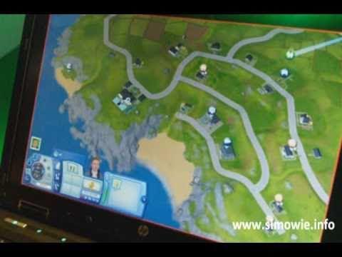 Barnacle Bay video van de Poolse fansite Sims True Life