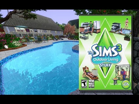 Curtis Paradis: De Sims 3 Buitenleven video review