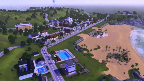 De Sims 3: Barnacle Bay video review van Sim Tuts