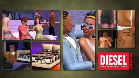 De Sims 3 Diesel Accessoires ligt in de winkels