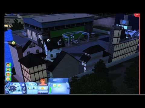 EA's Town Hall Meeting: De Sims 3 Na Middernacht presentatie video 1 en 2