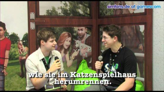 GC 2011 – De Sims 3 Beestenbende: interview met Graham Nardone