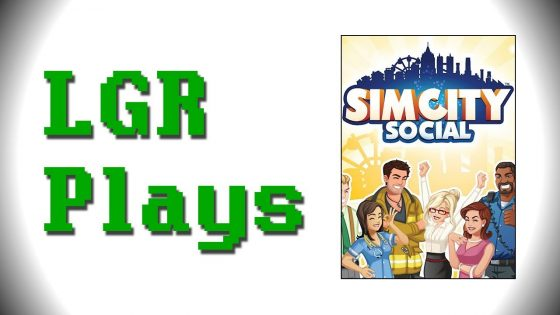 Lazy Game Reviews: video review van SimCity Social
