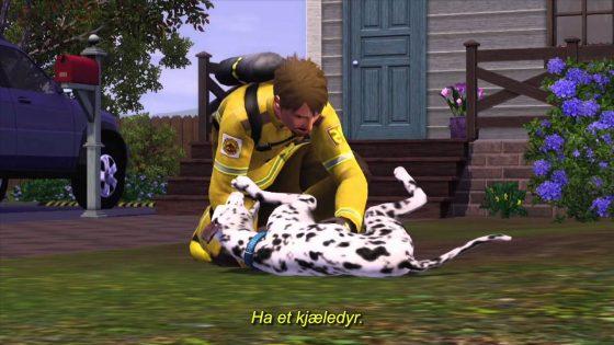 Nieuwe De Sims 3 Beestenbende commercial