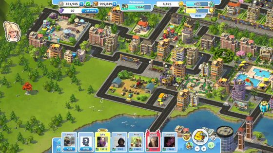 Simcity Social trailer: More City Less Ville
