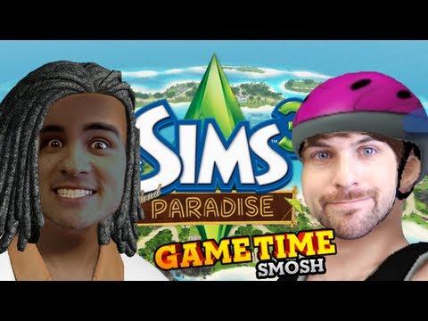 Smosh speelt De Sims 3 Exotisch Eiland