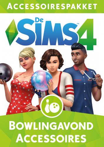 De Sims 4 Bowling Accessoires box-art