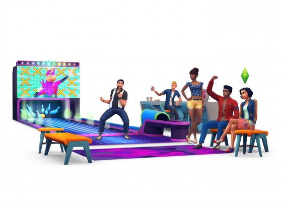 De Sims 4 Bowling Accessoires render
