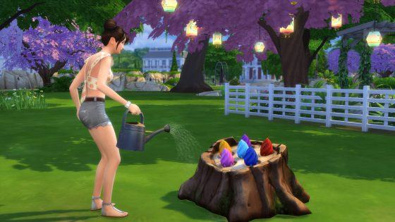 how to become a plantsim sims 4