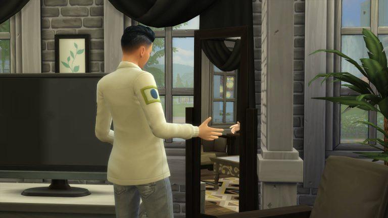 Toespraak oefenen in de spiegel