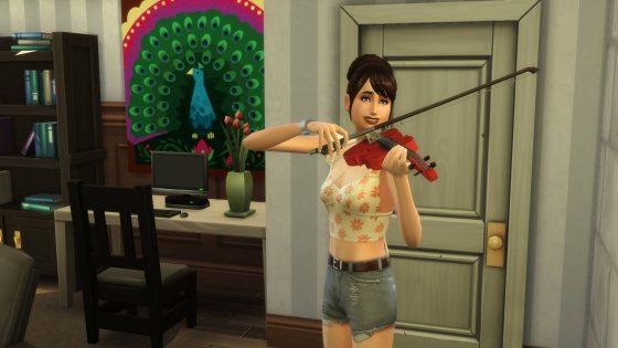 Oefenen op de viool