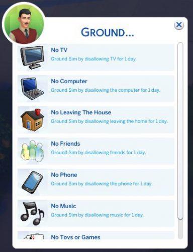 De Sims 4 Ouderschap: Huisarest