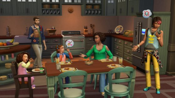 De Sims 4 Ouderschap: Karakterwaarden