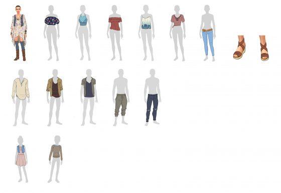 Winnende kledingstukken voor De Sims 4 Wasgoed Accessoires