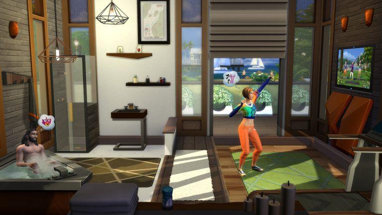 De Sims 4 Fitness Accessoires