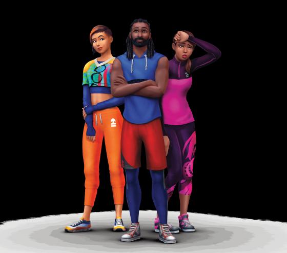 De Sims 4 Fitness Accessoires: Kavel en huishouden uit promotiemateriaal