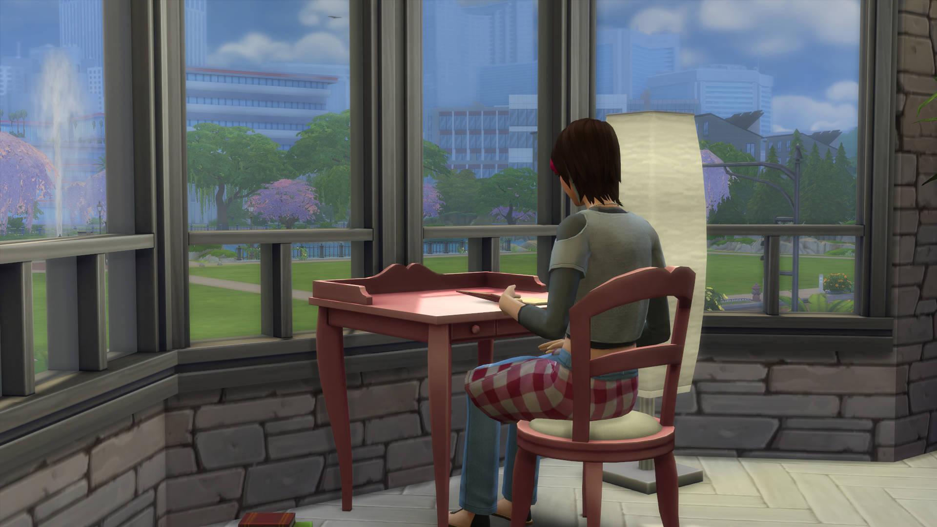 De Sims 4 Ouderschap: Dagboek